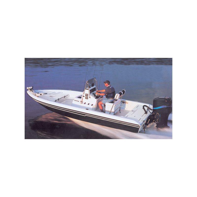 V-Hull Center Console Shallow Draft Fishing Boats