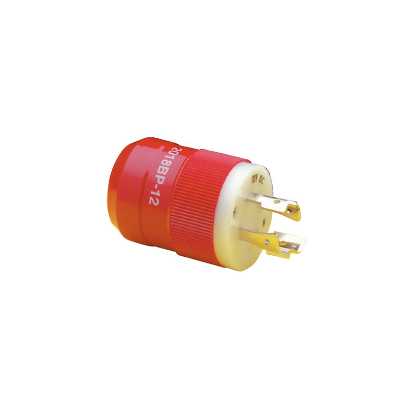 Marinco 4 Wire Red Charging Plug