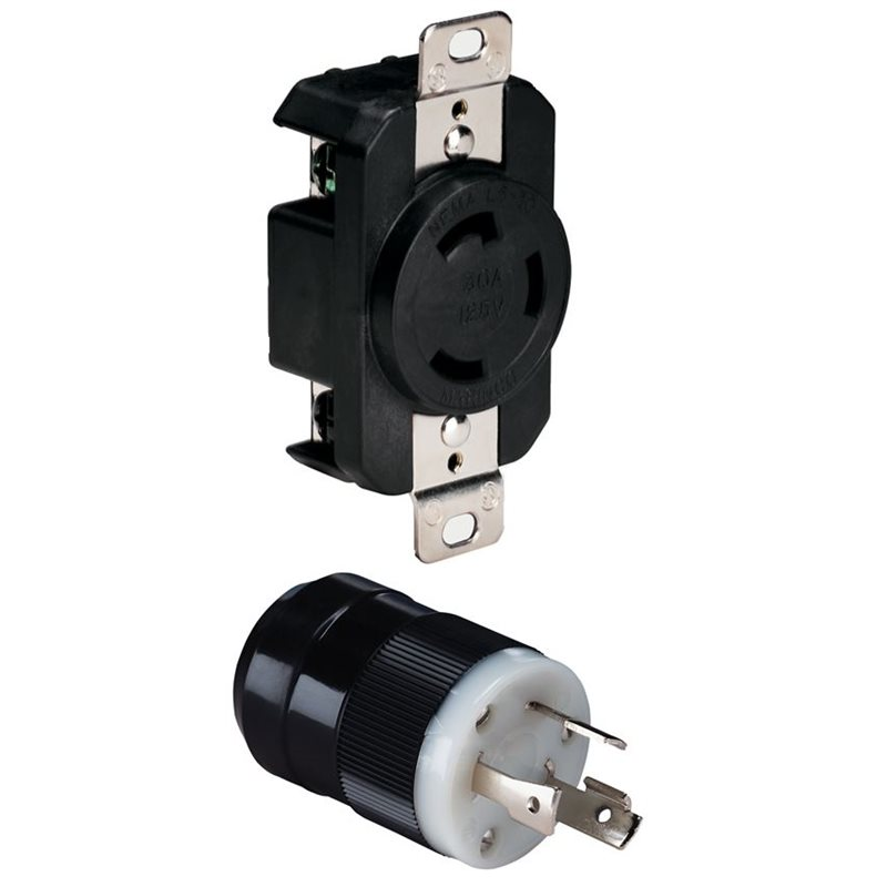 Marinco 30 Amp 3 Wire Plug & Receptacle