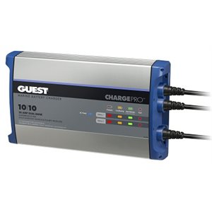 GUEST 2720A 20 AMP 2 BANK CHARGER