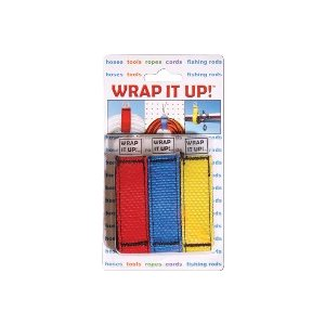 AIRHEAD WR-123 WRAP IT UP! ROPE & CORD ORGANIZER (RED YELLOW & BLUE)