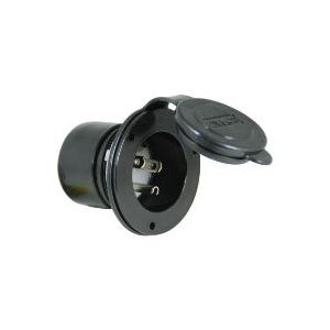 MARINCO 150BBI BLACK ONBOARD CHARGER INLET